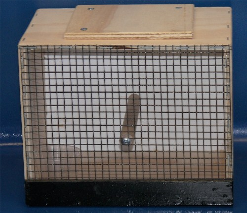 Finch Trap Cage http://www.jjspetsupplies.com/cages_and_accessories.htm